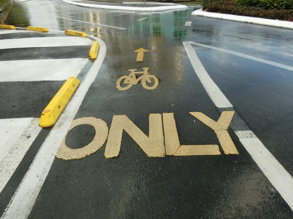 標識(自転車専用道路)