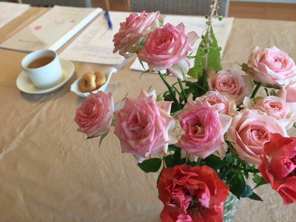 薔薇とペアレントトレーニング